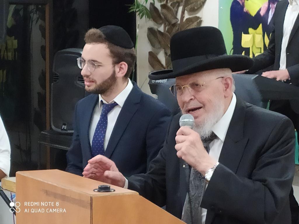 ראש ישיבת מיר הגאון רבי יצחק אזרחי