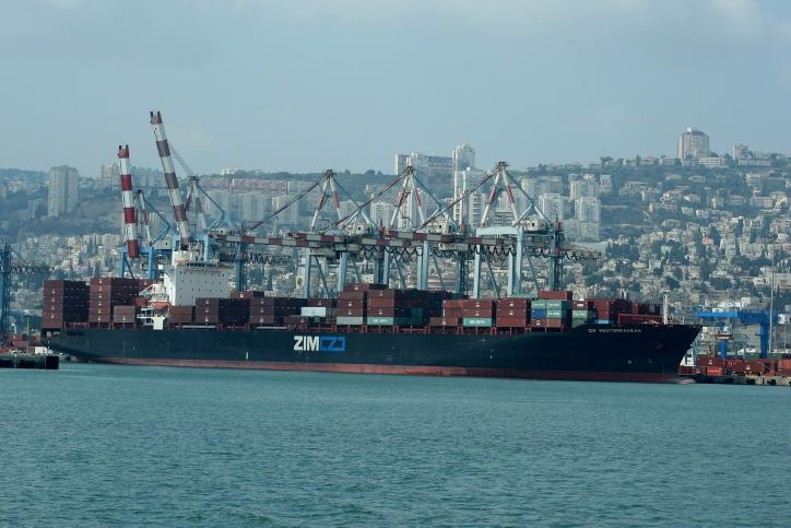 נמל חיפה. האמריקנים כעסו על ישראל שנתנה לסינים לבנות את הנמל החדש