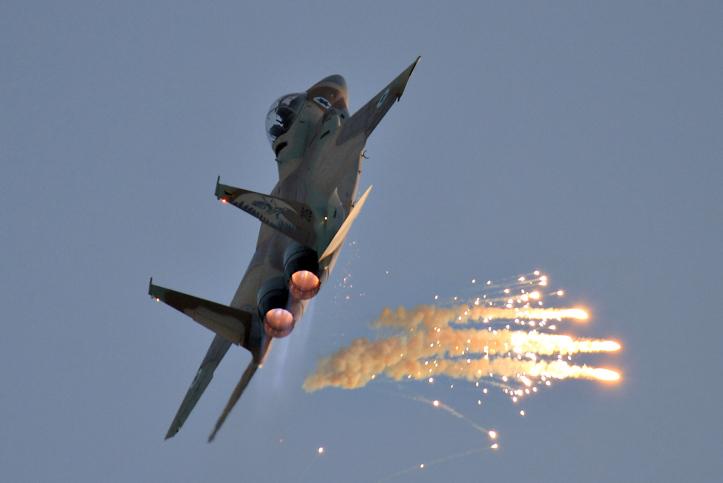מטוס F15I של חיל האוויר