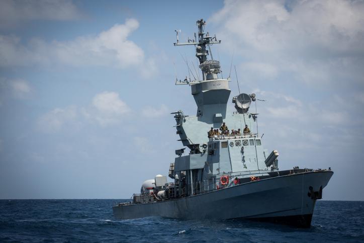 ספינת טילים של חיל הים הישראלי