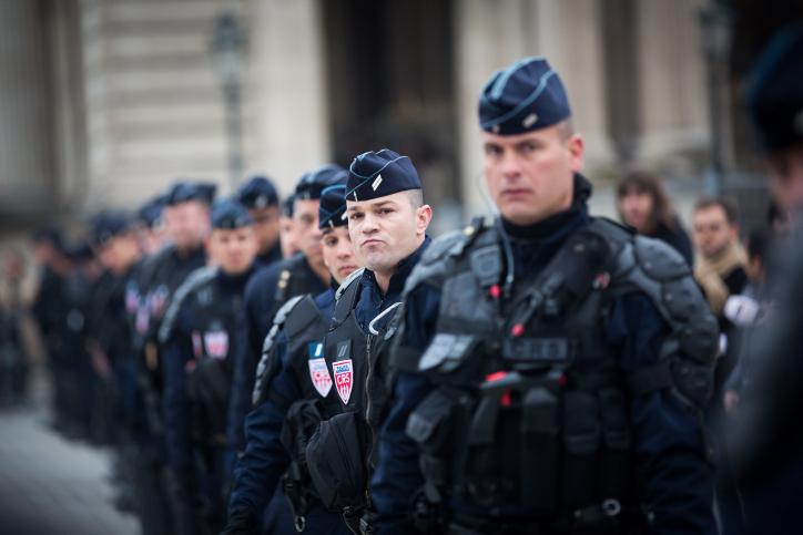 כוחות ביטחון צרפתיים