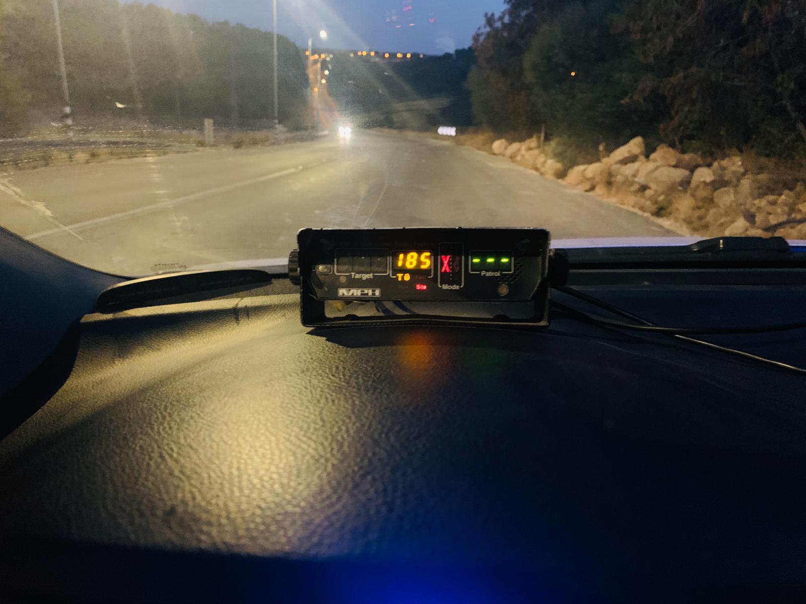 מכמונת המהירות של המשטרה