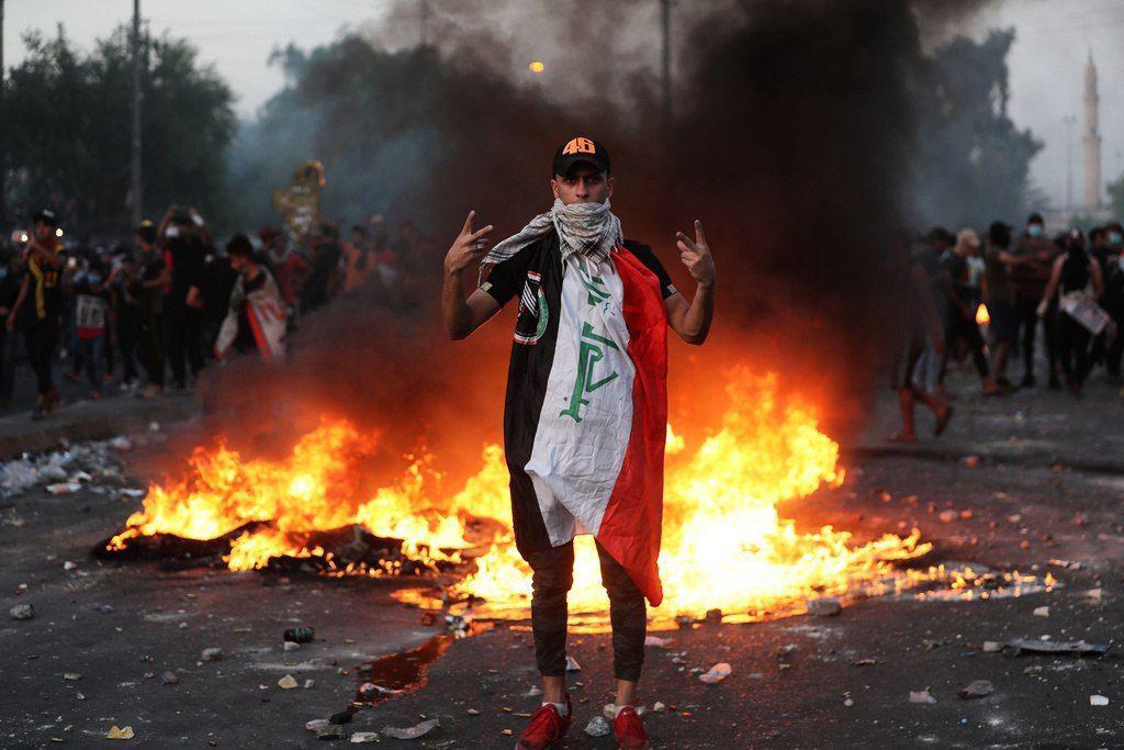 הפגנה בבגדאד