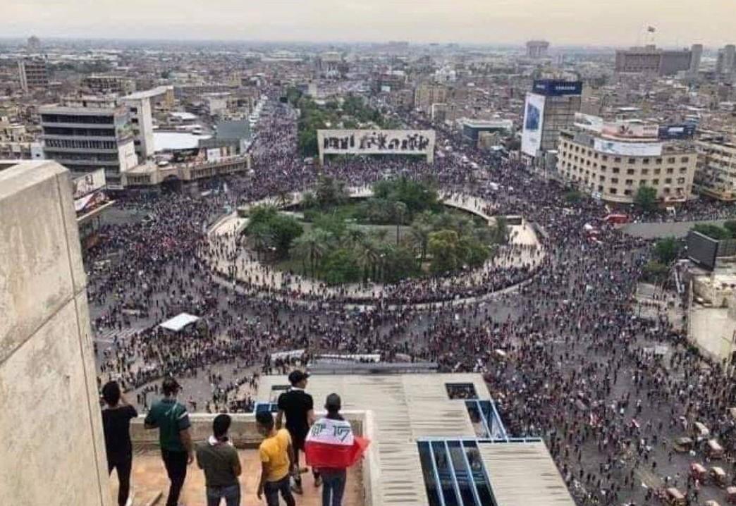 ההפגנות בכיכר תחריר בעיראק