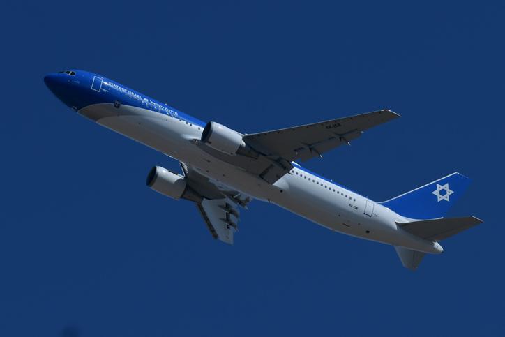 מטוס ראש הממשלה בטיסת הניסוי היום
