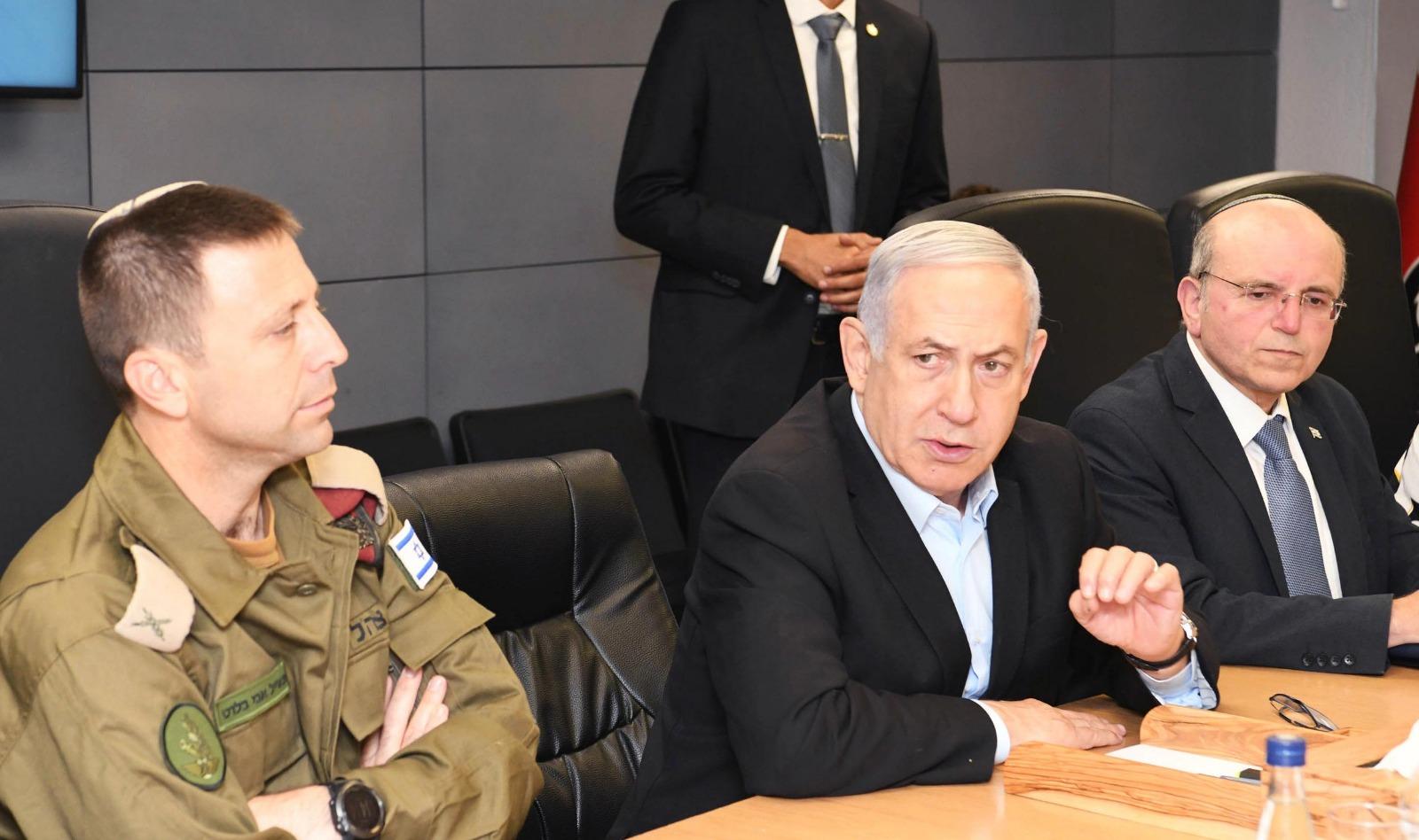ראש הממשלה בהתייעצות בפיקוד דרום