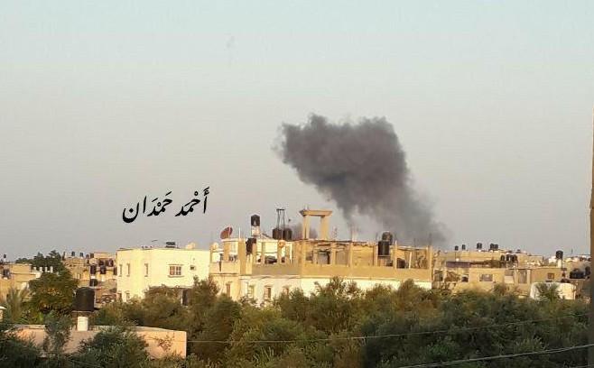 ההפצצות בעזה