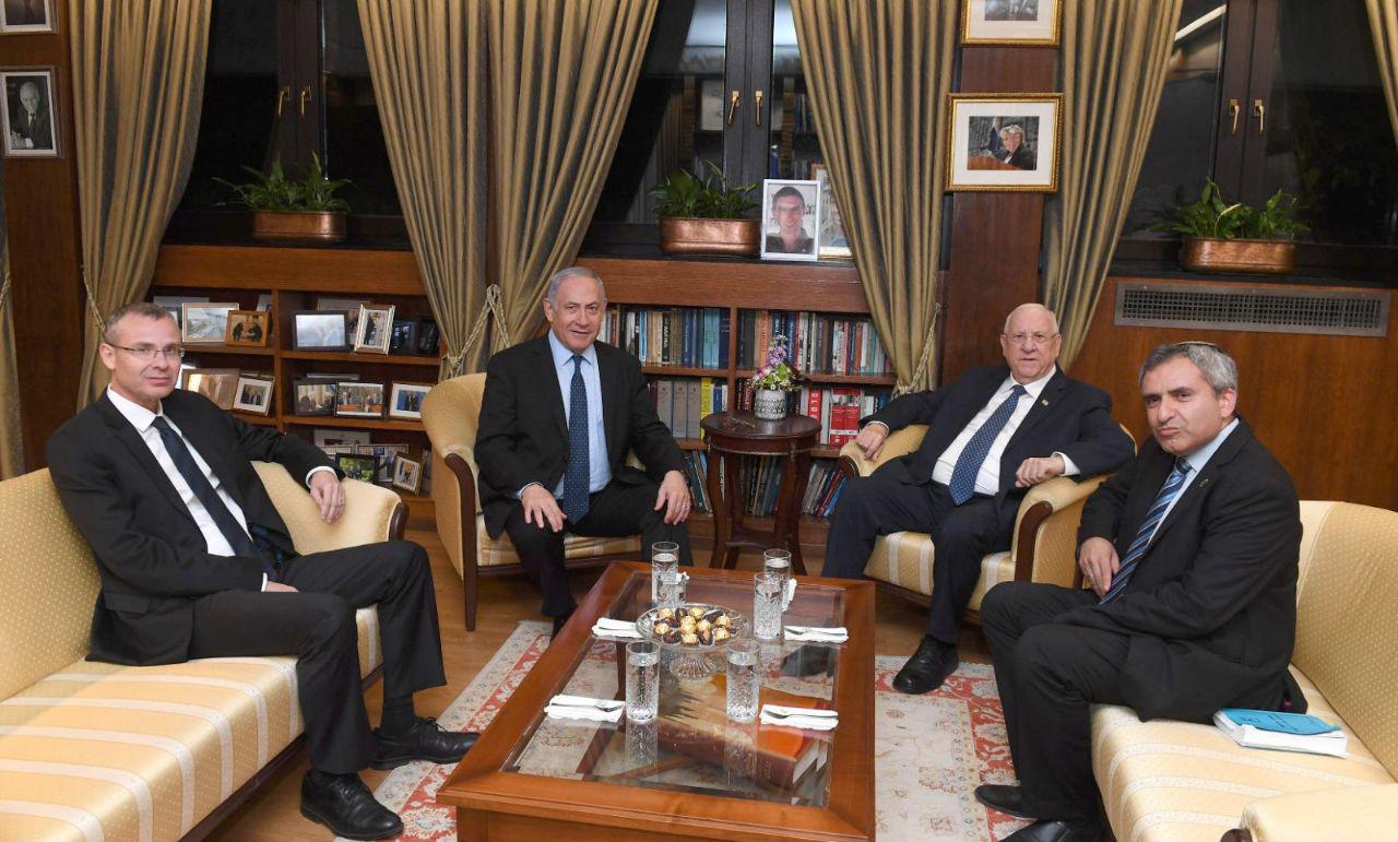 ראש הממשלה והנשיא הערב