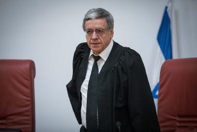 .השופט מני מזוז צילום יונתן זינדל Flash90