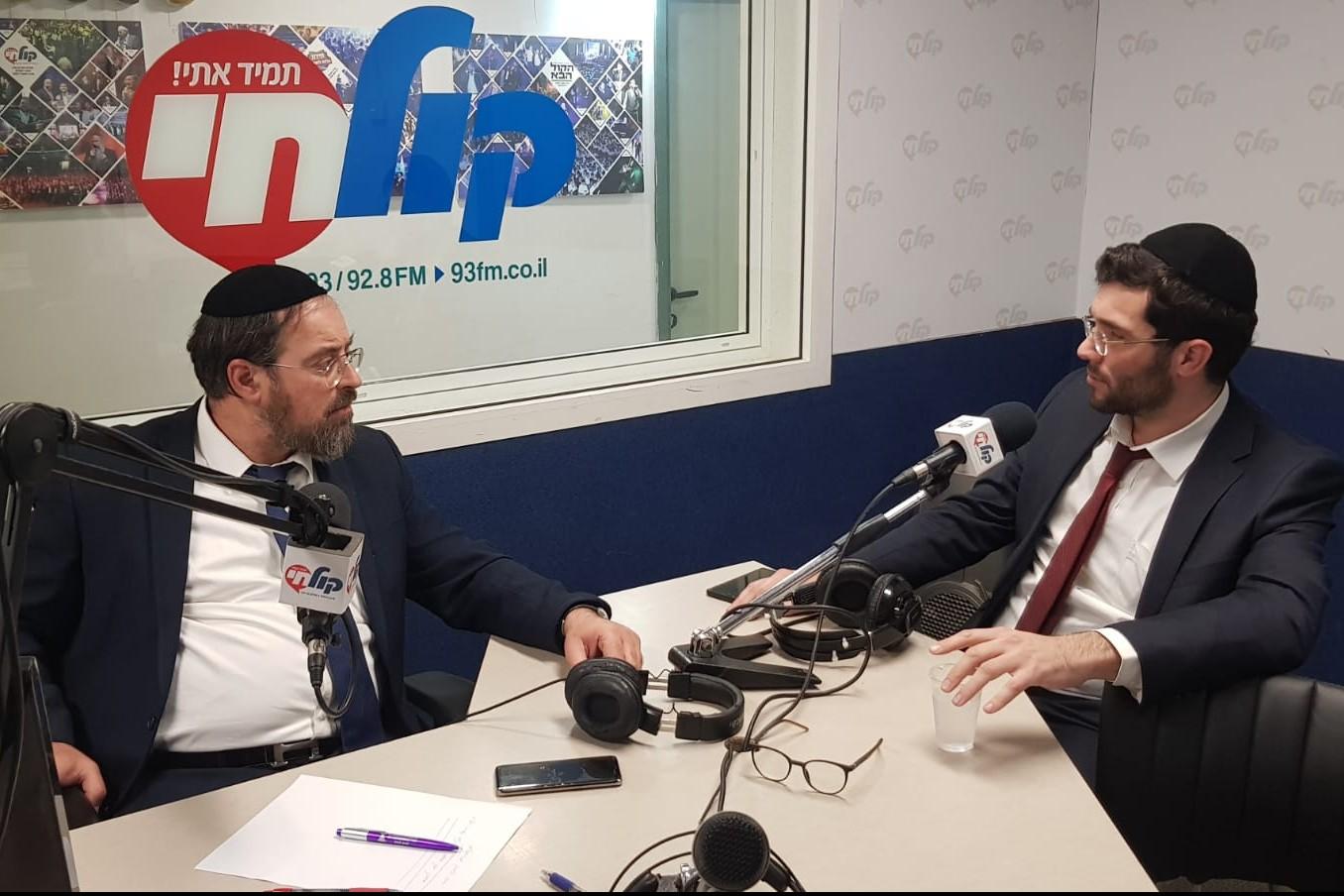 אלחנן גרוסבוים והרב הורוביץ מילום אשר גרייבר