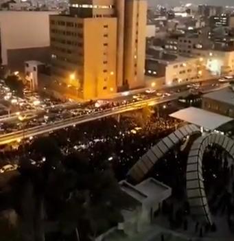 המחאות ברחבי איראן