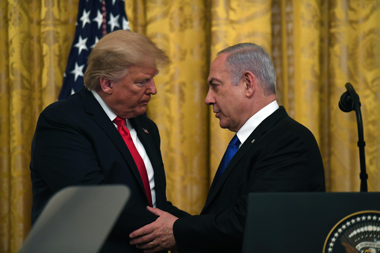 """ראש הממשלה ונשיא ארה""""ב בהכרזה ההיסטורית"""