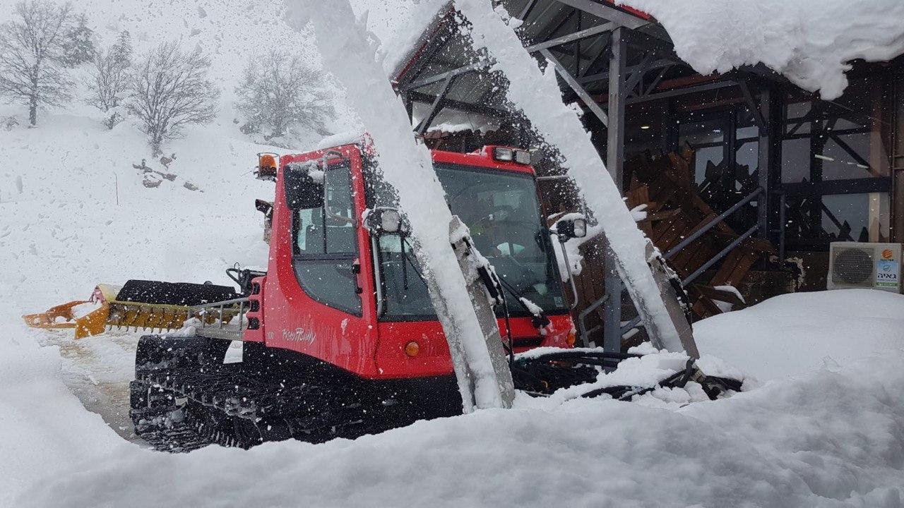 מפלסת השלג בחרמון