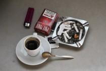 קפה וסיגריה | אילוסטרציה