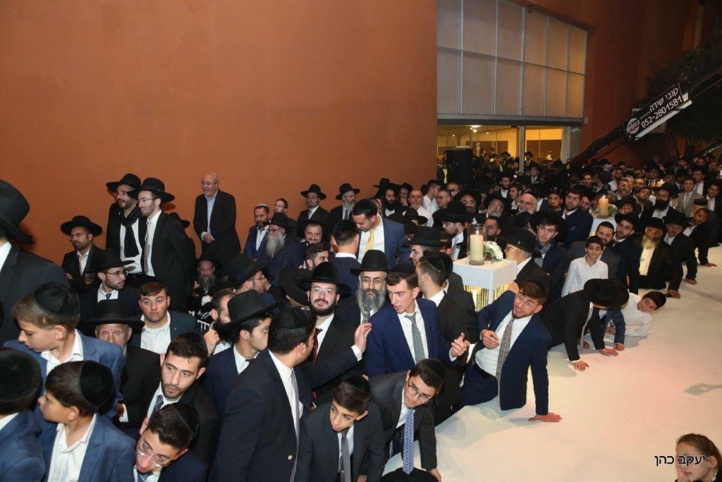 חתונת האדמו''ר רבי יחיאל אבוחצירא צילום יעקב כהן (10)