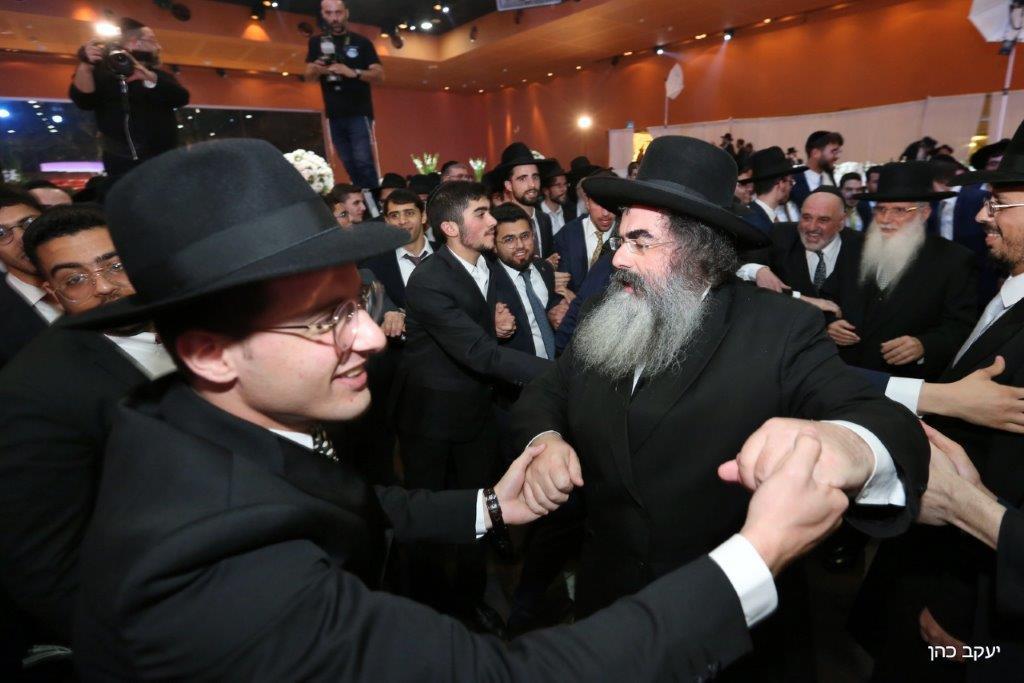חתונת האדמו''ר רבי יחיאל אבוחצירא צילום יעקב כהן (26)