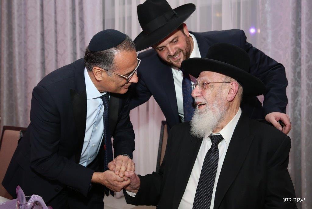 חתונת נכד נשיא המועצת צילום יעקב כהן (1)