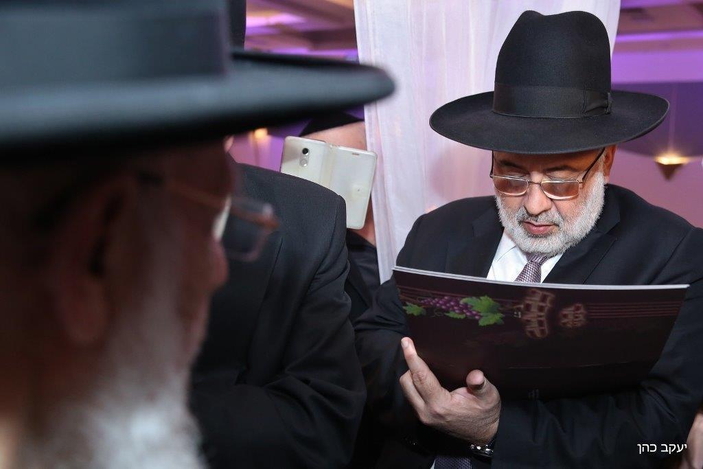 חתונת נכד נשיא המועצת צילום יעקב כהן (11)