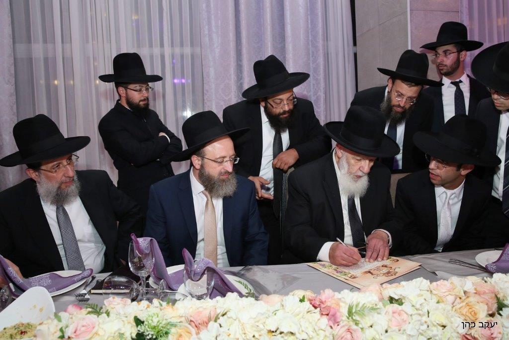 חתונת נכד נשיא המועצת צילום יעקב כהן (2)