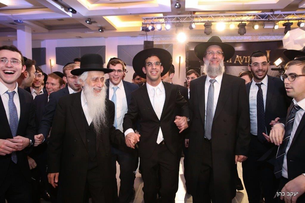 חתונת נכד נשיא המועצת צילום יעקב כהן (33)