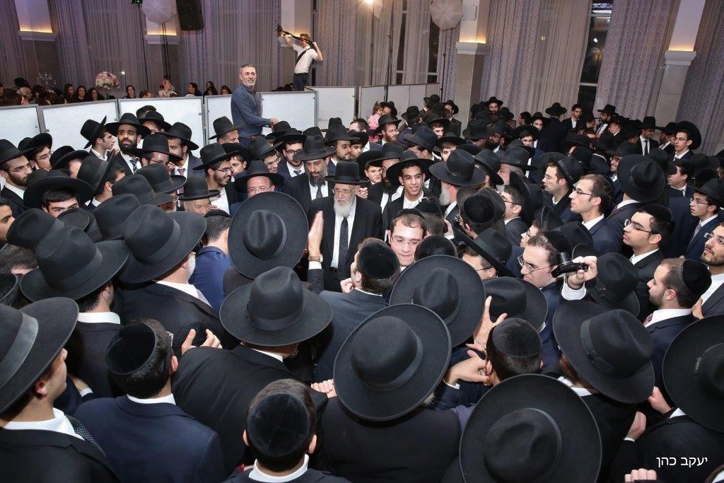 חתונת נכד נשיא המועצת צילום יעקב כהן (48)