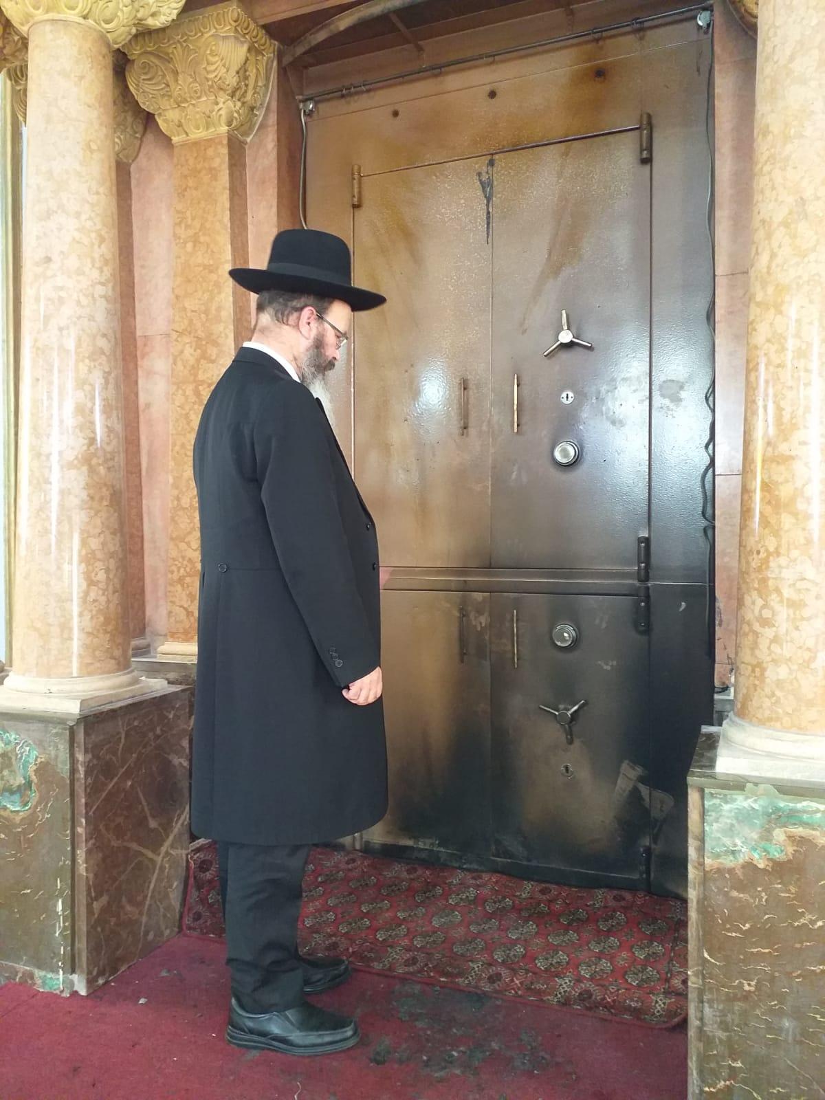 הרב מיכה הלוי שריפה פ''ת צילום יהודה פינס