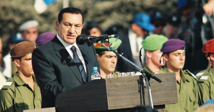 נשיא מצרים לשעבר, חוסני מובארק